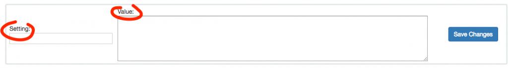 Custom module to manage hooks settings create setting