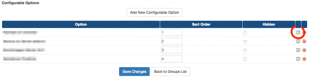 Check for manual renewal configurable options dropdown