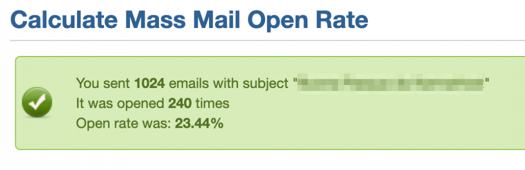 WhmcsTricks Email Status open rate